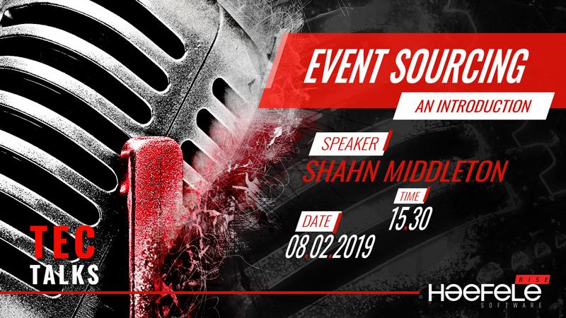 Shahn Middleton – Event sourcing